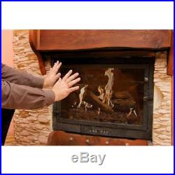 Gas Fireplace Vent Free Propane Gas Home Fireplace Logs Thermostatic Control