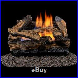 Gas Vent Free Propane Log For Fireplace Logs AND Burner Stoves FAST SHIPPING