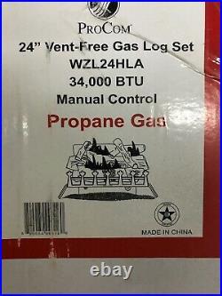 Gas Ventfree Log Set
