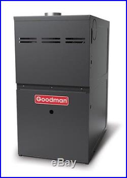Goodman 2.5 Ton Gas Furnace 16 Seer Split System AC 80% Upflow 60000 BTU