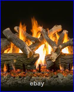 Grand Canyon 36 Arizona Weathered Oak Charred Vented Gas Logs AWOC36LOGS