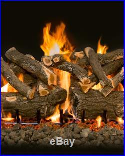 Grand Canyon 42 Arizona Weathered Oak Charred Vented Gas Logs AWOC42LOGS