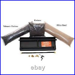 Hargrove 24-In Classic Oak Vented Natural Gas Log Set H-Burner Match Light