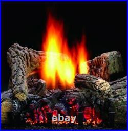 Hargrove 26 Timberland Glow Vent-Free Gas Log Manual Control