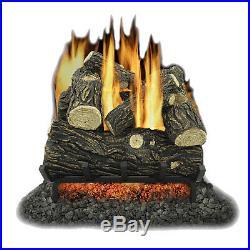 Kozy World GLV018 Vented 18 inch Natural Gas Legacy Oak Log Set 45,000 BTUs
