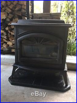 Lennox Traditions Cast Iron Gas Fireplace complete with Gas Logs & Hearth Pad