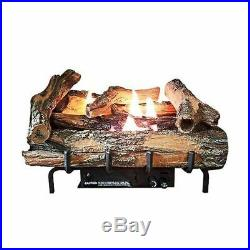Low Country Timber 18 Vent-Free Log Set with Millivolt Control LP