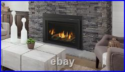 Majestic Ruby 25 Direct Vent Natural Gas Insert with Remote Control & Log Set