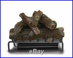 Masterflame 24 Aged Oak Log Kit 7pcs Outdoor Gas Log