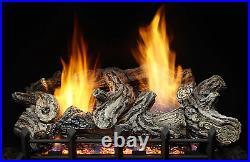 Monessen Riverwood Refractory Vent Free Gas Log 18 Propane Remote Control