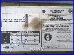 NIB 30 Vented Natural-Gas Dual-Burners FIREPLACE Imitated LOGS - 7 logs
