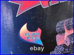 NOS Timberline Gas Log Set w Burner & Grate Fireplace insert 45,000 BTU
