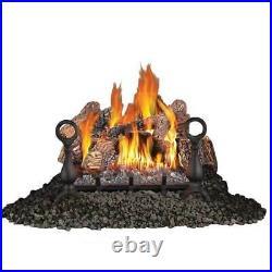Napoleon Fiberglow 18 Inch Log Burner Insert for Propane Gas Fireplaces (Used)