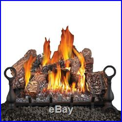Napoleon Fiberglow 24-Inch Vented Logs for Natural Gas Fireplace (Open Box)