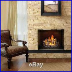 Napoleon Fiberglow 24 Vent Free Log Set Insert for Natural Gas Fireplace (Used)