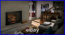 Napoleon Woodland 27 Built-in Wall Electric Log Fireplace Insert Heater