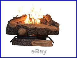 Natural Gas Logs For Fireplace Vent Free Firewod Log Set Insert With Thermostat