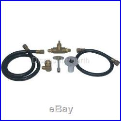 Natural Gas NG Fire Pit Gas Connection Kit Ball Valve Fire Pit Firepit Fireplace