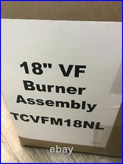 New 18 Fireplace Burner Assembly Tcvfm18nl Reddy Heater Emberglow Gas Log