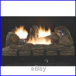 New Comfort Glow Cf2436pt 24 Lp Gas Logs Set Vent Free Thermostat 6955835