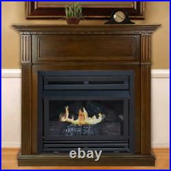 PLEASANT HEARTH VFF-PH26NG Intermediate Cherry VF Fireplace, NG, 42
