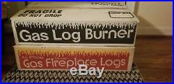 Peterson Gas Log Burner G4-24 and Fireplace Logs LP (Propane)