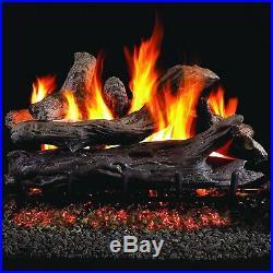 Peterson Real Fyre 24 Coastal Driftwood Gas Log Set withVented Natural Gas Burner