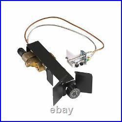 Peterson Real Fyre 24 Golden Oak Gas Logs & G45 Safety Pilot Light Kit