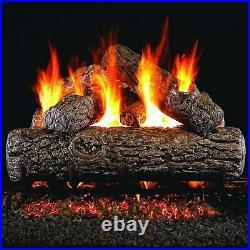 Peterson Real Fyre 24 Golden Oak Gas Logs & G4 Burner Kit