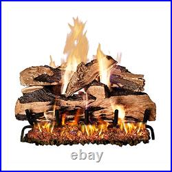 Peterson Real Fyre 24-inch Split Oak Designer Plus Gas Logs Logs Only, No Burner