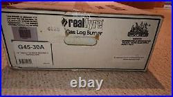 Peterson Real Fyre 30 Gas Logs G45 Safety Pilot Burner Kit (no logs)