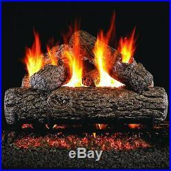 Peterson Real Fyre Gas Logs withBurner Kit Golden Oak 18, 24, or 30