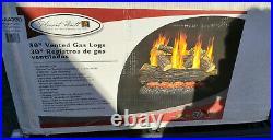 Pleasant Hearth 30 Arlington Ash Vented Gas Log Set 65,000 BTU's