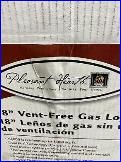 Pleasant Hearth VFL2-SO18DT 18 Inch 30,000 BTU Gas Log Set Y-32