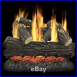 Pleasant Hearth Willow Oak Vented Gas Log Set PSTH1167