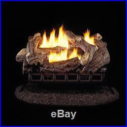 ProCom Ventless Propane Gas Log Set 24in, 34,000 BTU, Model#WZL24HLA
