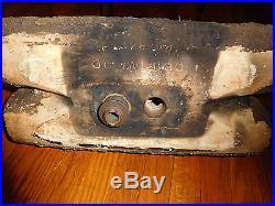 Rare Antique Strait & Richards Terra Cotta Driftwood Gas Fireplace Fire Log 18