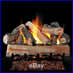 Rasmussen 24 CrossFire Vented Log Set 24 Match Lit FX Burner and Grate
