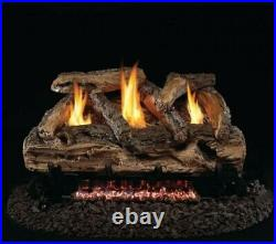 Real Fyre 20 Split Oak Standard Gas Logs Log Set Only