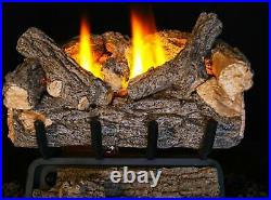 Real Fyre 24 G8 Series Standard Valley Oak Logs Set- Gas Logs Only