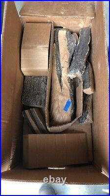 Real Fyre 24 Split Oak Designer Plus Vented Gas Log #278-a OPEN BOX