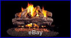 Real Fyre Cedar 30 Vented Outdoor Gas Log Propane CR-30