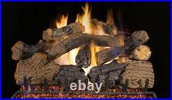 Real Fyre Charred Grizzly Oak CHGO-30 Standard 30 Vented Gas Log Set