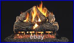 Real Fyre Charred Series Charred Oak CHD-18/20 Standard 18 or 20 Gas Log Set