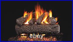Real Fyre Classic Series Post Oak PO-24 Standard 24 Vented Gas Log Set