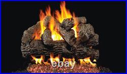 Real Fyre Classic Series Royal English Oak B-24 Standard 24 Vented Gas Log Set