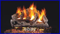 Real Fyre Classic Series- Rugged Oak RRO-30 Standard 30 Vented Gas Log Set