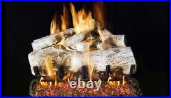 Real Fyre Designer Series Mountain Birch MBW-18 Standard 18 Vented Gas Log Set