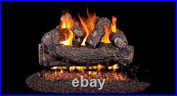 Real Fyre Forest Oak 18 Vented Gas Log Propane Remote