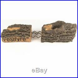 Real Fyre Gas Logs 24 Golden Oak Designer Plus Logs Only